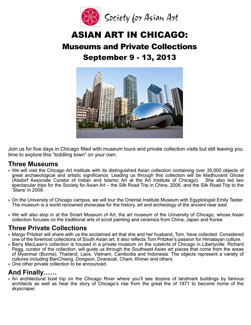 ASIAN ART IN CHICAGO Museums And Private Collections Society - Private museums in us