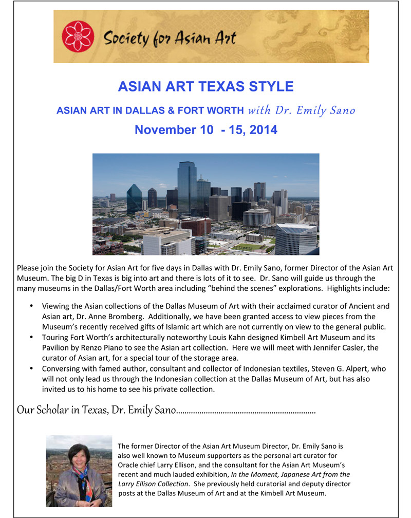 DallasFINALVjpg Society For Asian Art - How many museums in us